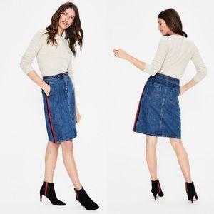 Boden Penny Denim Skirt, Mid Vintage Sz 2
